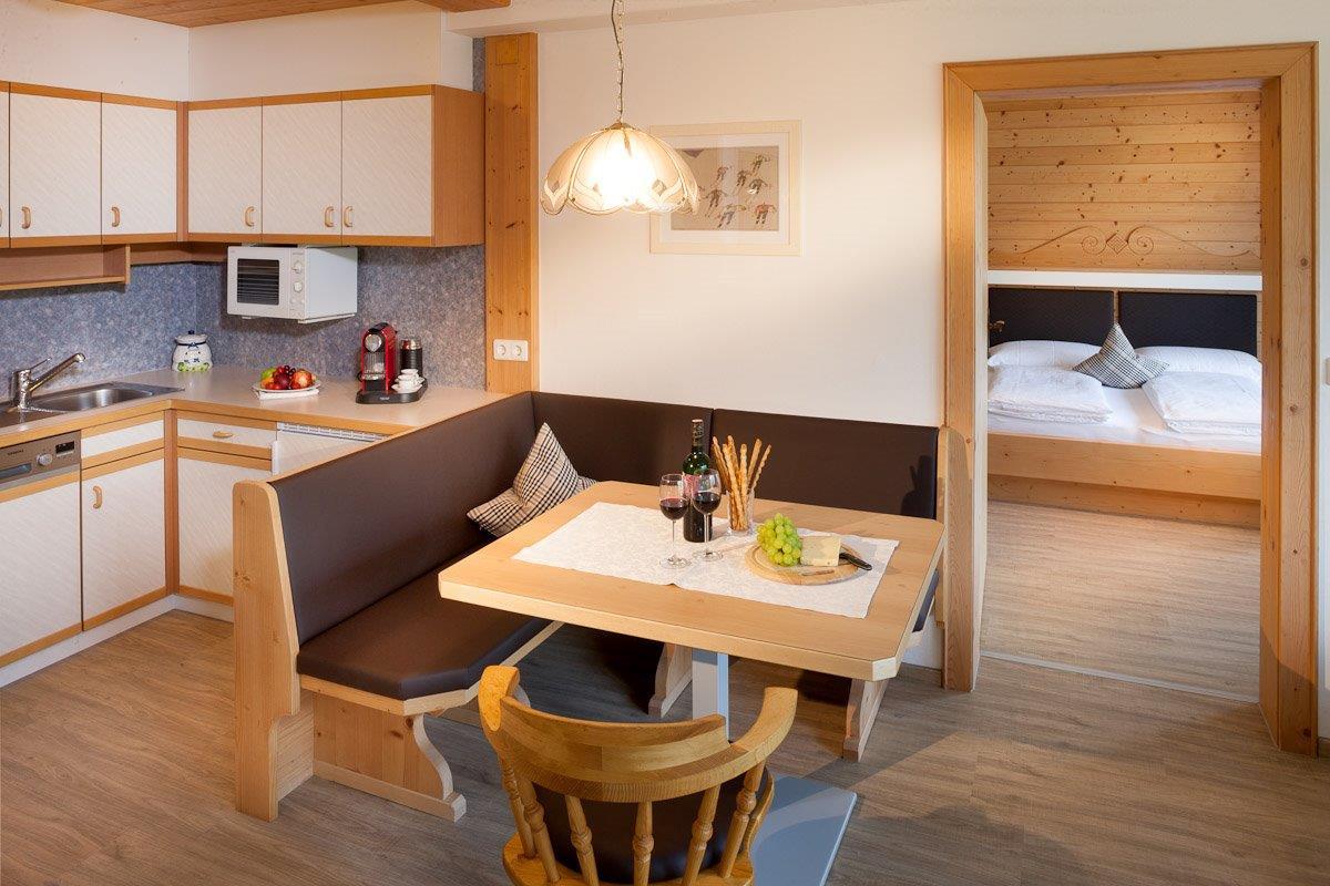 Apartment Rubin I - 46 m² - Ferienhaus Bstieler