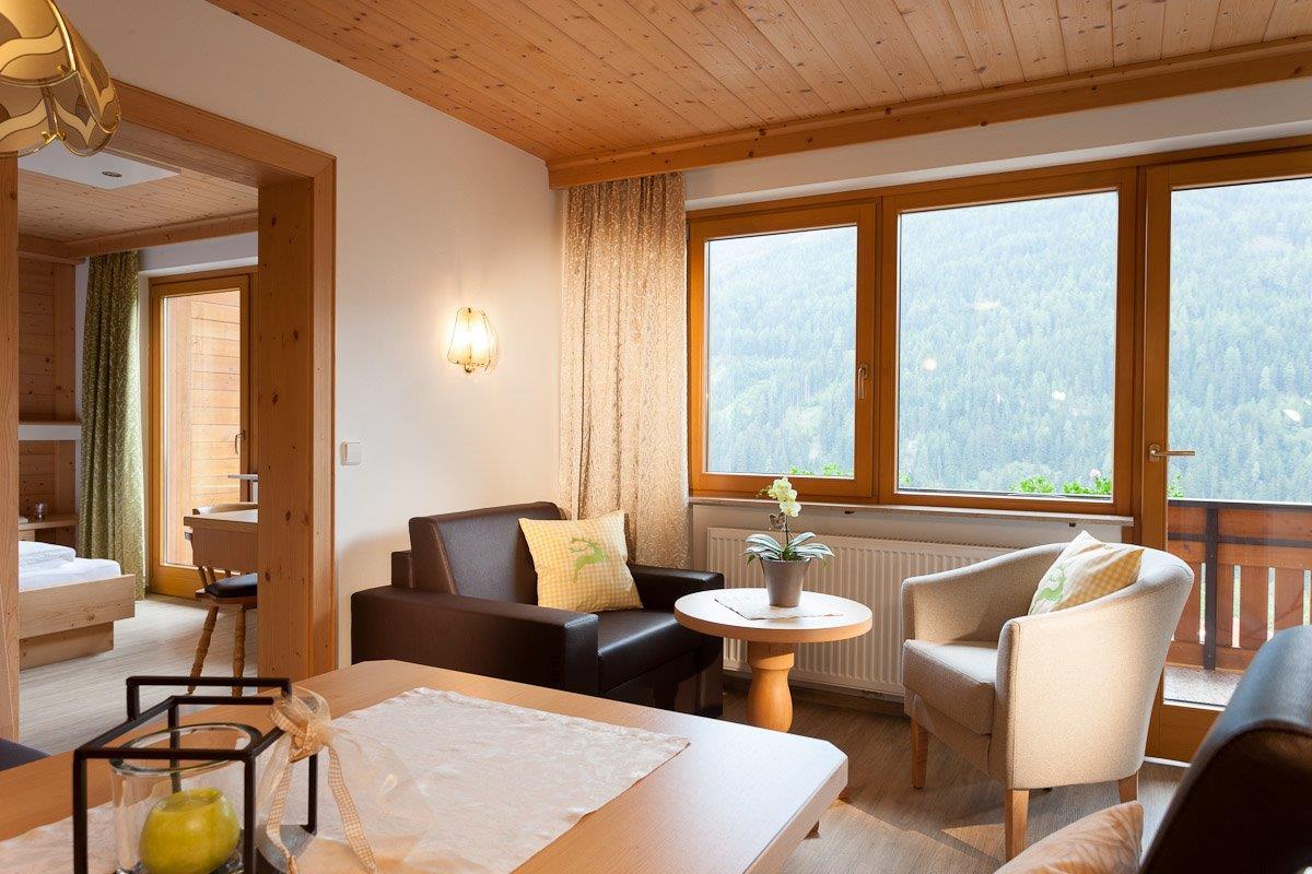 Apartment Rubin II - 47 m² - Ferienhaus Bstieler