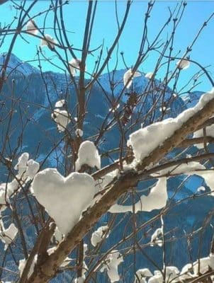Wintergruß aus Virgen