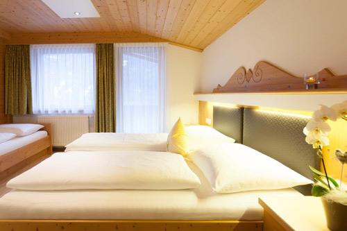 Schlafzimmer Apartment Bergzauber